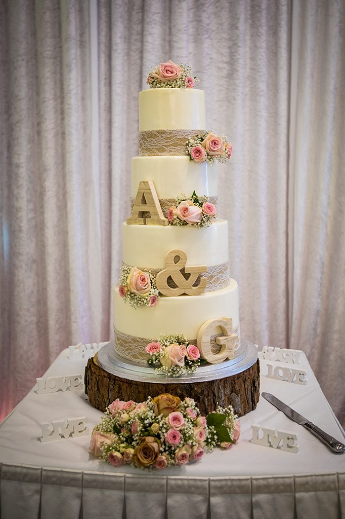 Wedding Cake, Grand Hotel Gosforth Park Newcastle