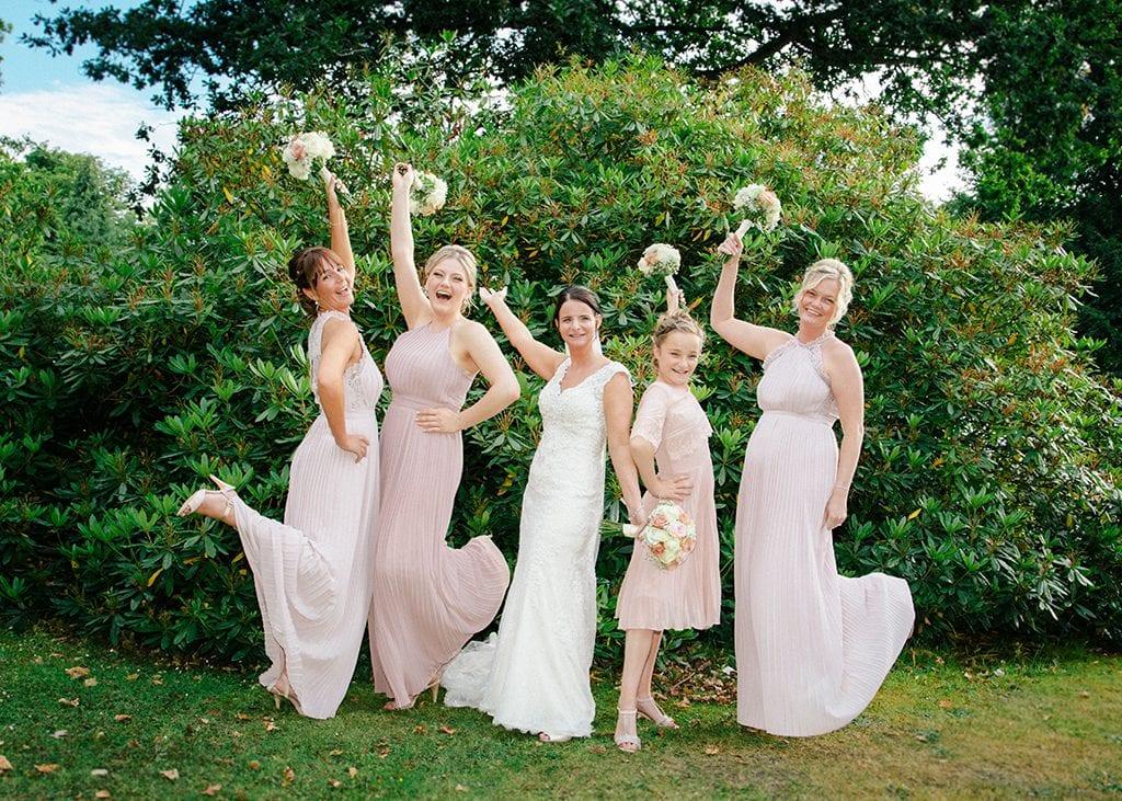 Bride & Brides Maids at Grand Hotel Gosforth Park Newcastle