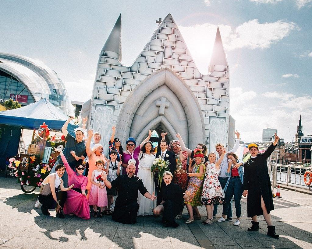 baltic centre gateshead wedding photography