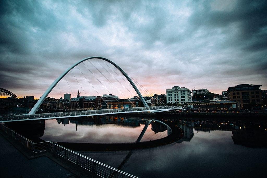 The Millennium Bridge Newcastle / Gateshead