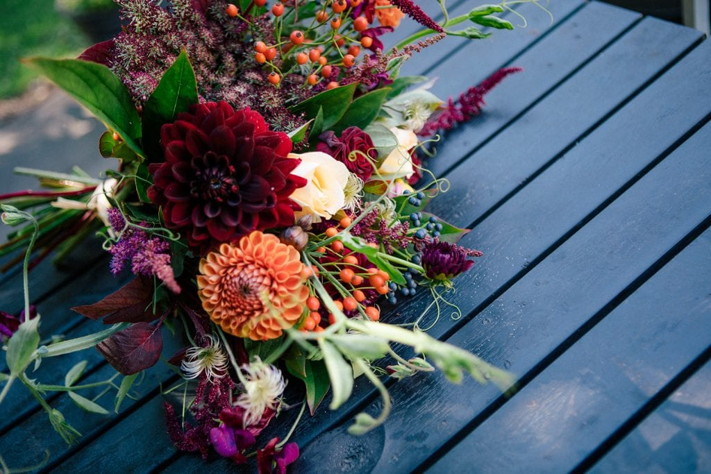 Bridesmaid Bouquet from Northumbrian Flowers
