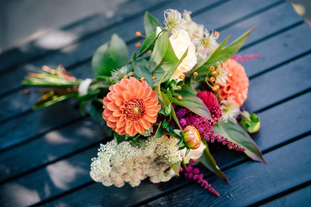 Small Bouquet from Northumbrian Flowers