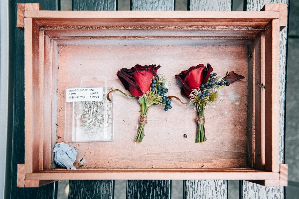 Buttonholes from Northumbrian Flowers