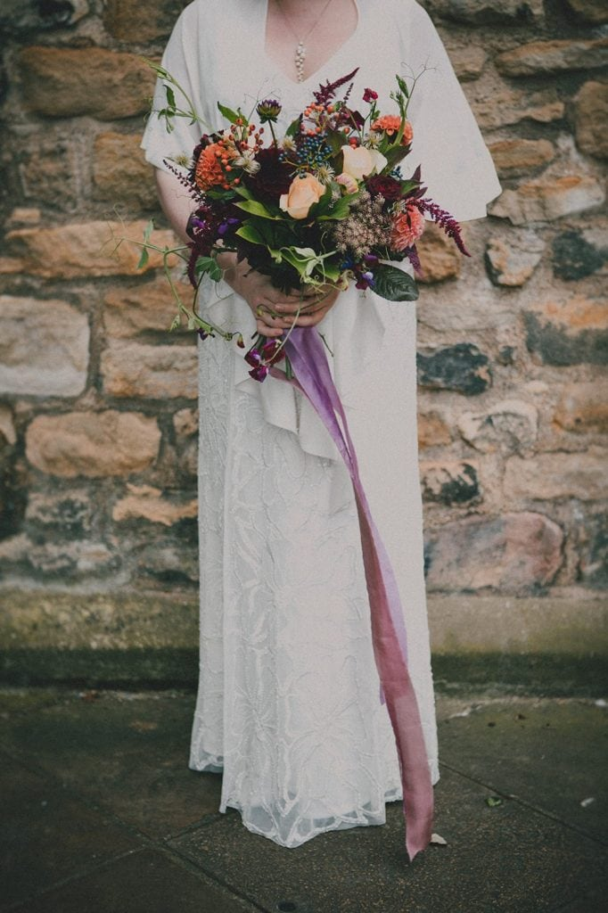 Northumbrian Flowers Wedding Bouquet