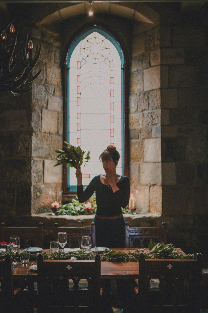 Blackfriars Banquet Hall table settings