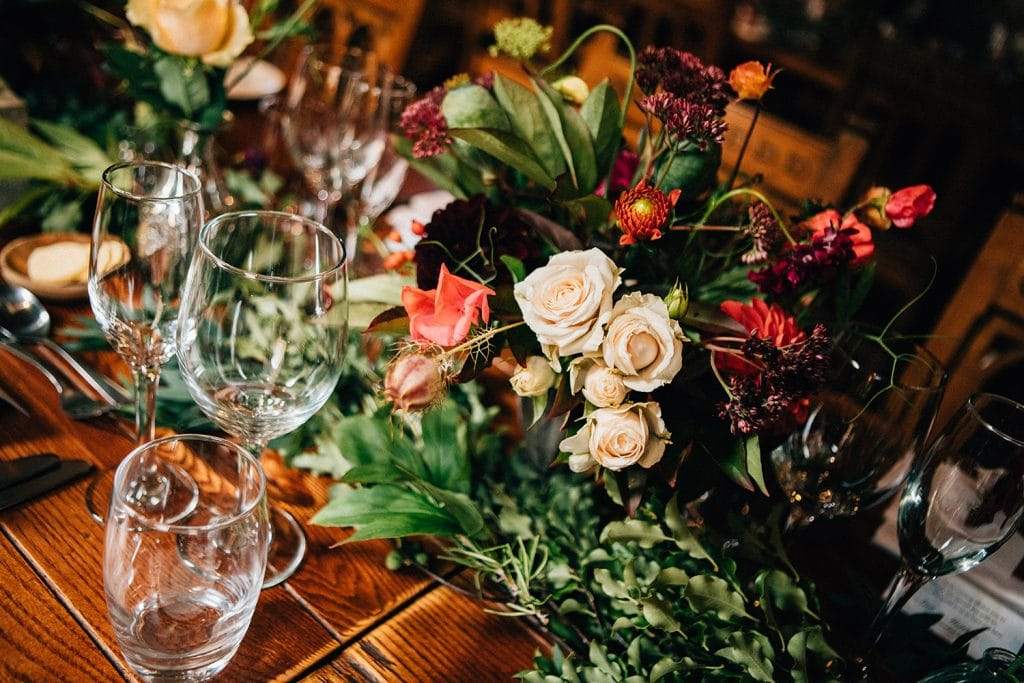 Table flowers by Northumbrian Flowers