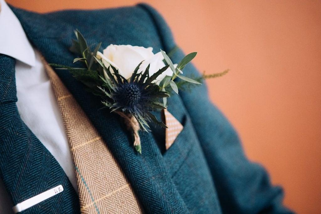 grooms buttonhole