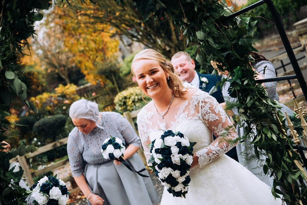 The Bride Arriving at the Reading Room in Eshott