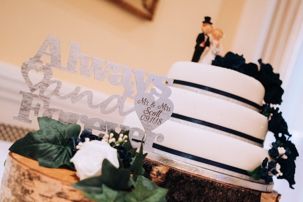 Mr & Mrs Scotts Wedding Cake