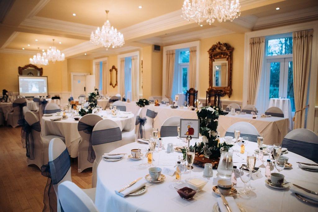 The Ballroom at Eshott Hall, Northumberland