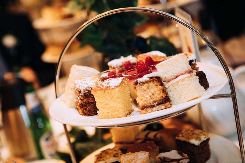 Afternoon tea at Eshott Hall, Northumberland