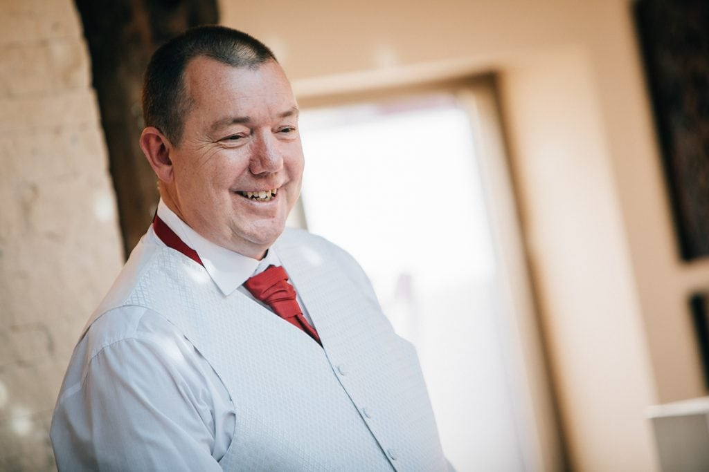Groom during his speech at The Waterford Lodge Hotel in Morpeth