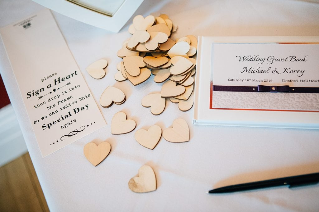 Sign a Heart tokens at doxford hall