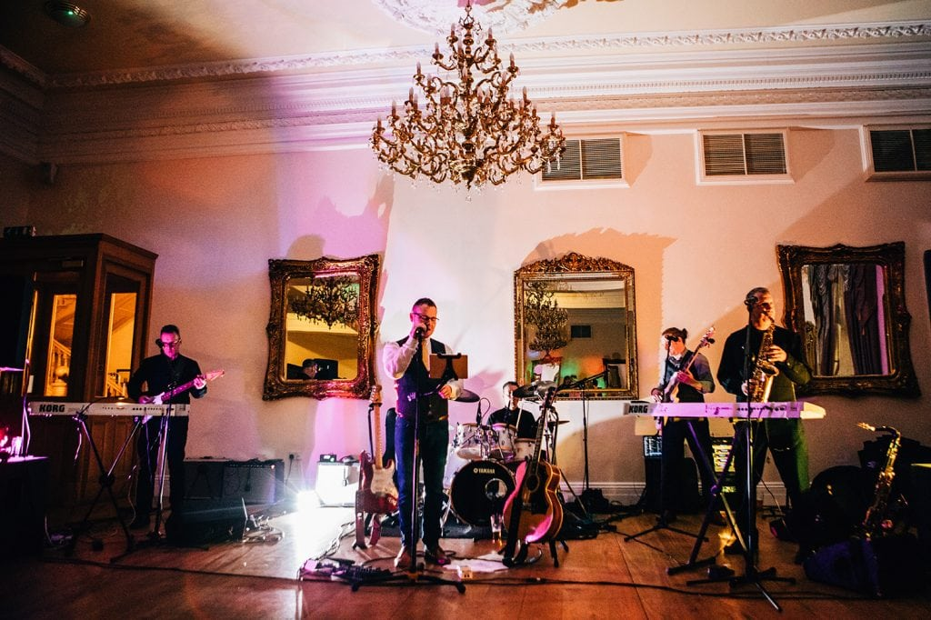 The Aaron Bailey Band at Doxford Hall