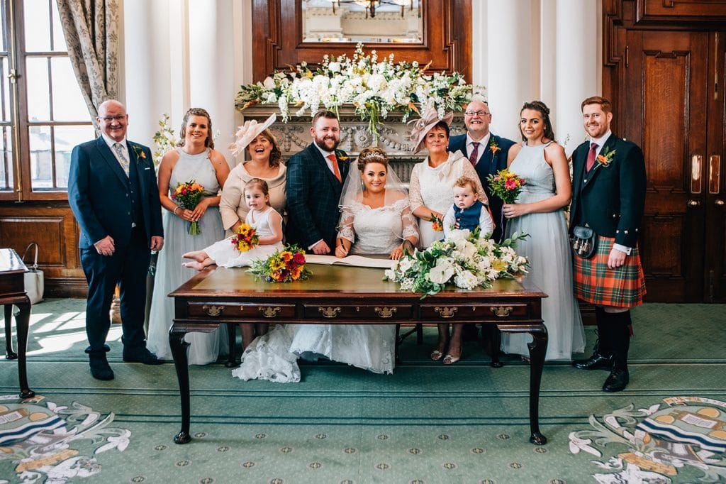 The Wedding Party at South Shields Town Hall