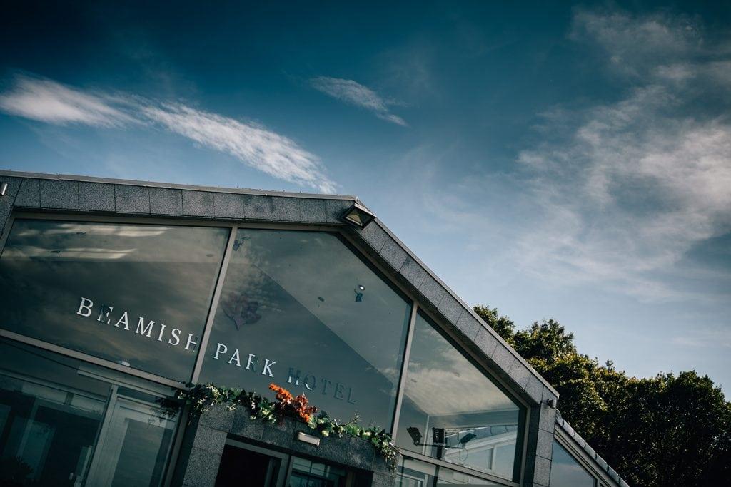 The entrance of Beamish Park Hotel, Beamish Burn Road, Marley Hill, Newcastle upon Tyne NE165EG