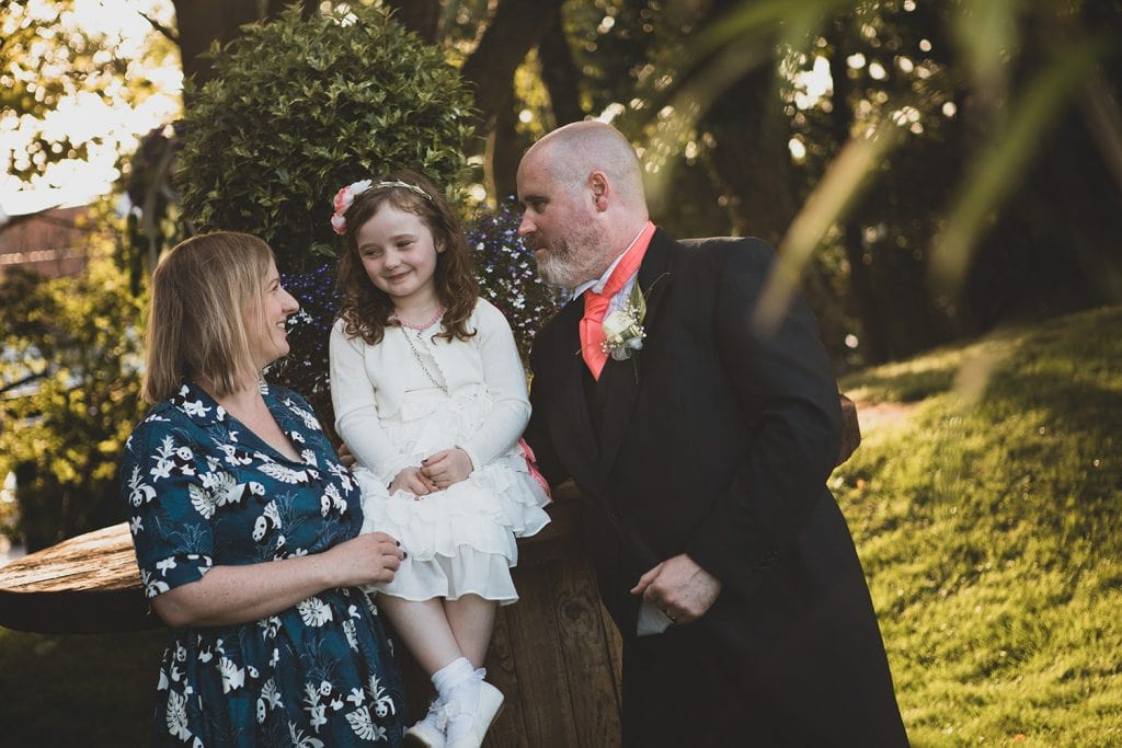 Bestman & his family at Beamish Park Hotel