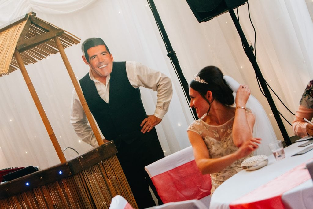 The DJ having fun with Mary at Beamish Park Hotel