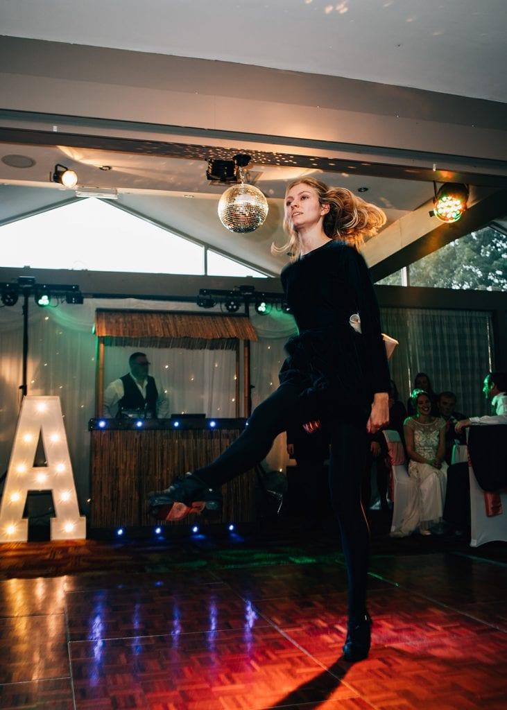 An Irish Dancer at Beamish Park Hotel