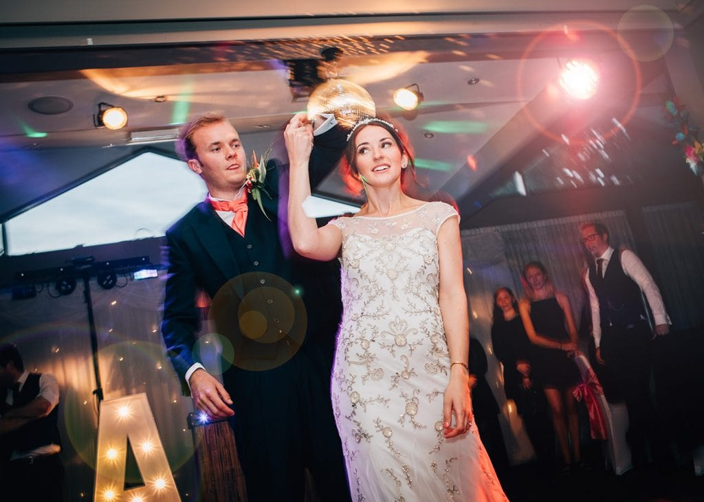Bride & Grooms first dance at Beamish Park Hotel