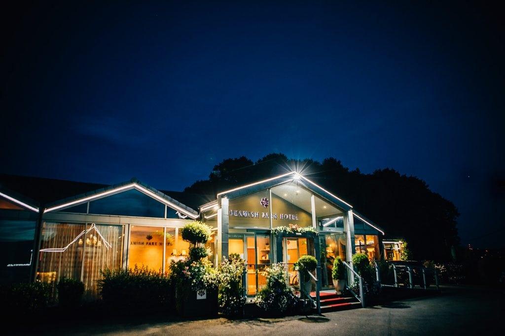 Beamish Park Hotel at Night