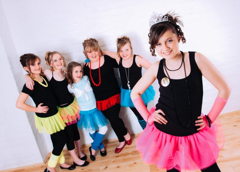 Dance themed pamper party at Halo Photography