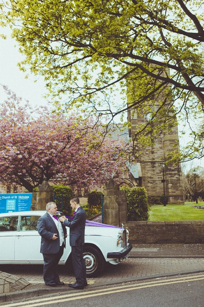 St Nicholas Church Cramlington Wedding Photography 13