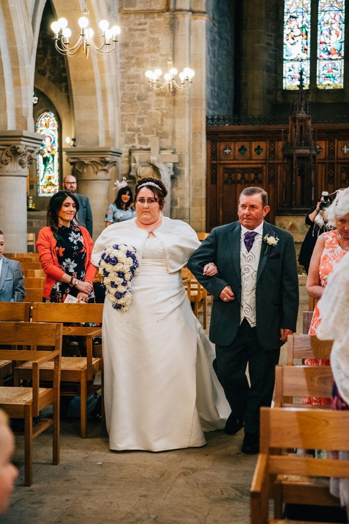 St Nicholas Church Cramlington Wedding Photography 21
