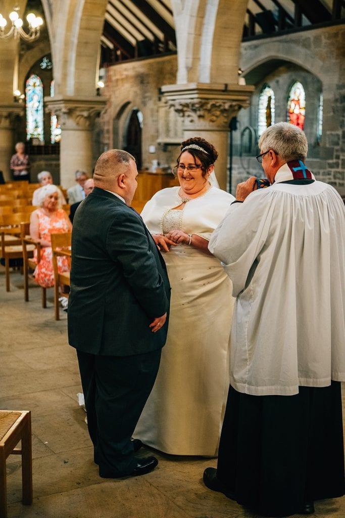 St Nicholas Church Cramlington Wedding Photography 28