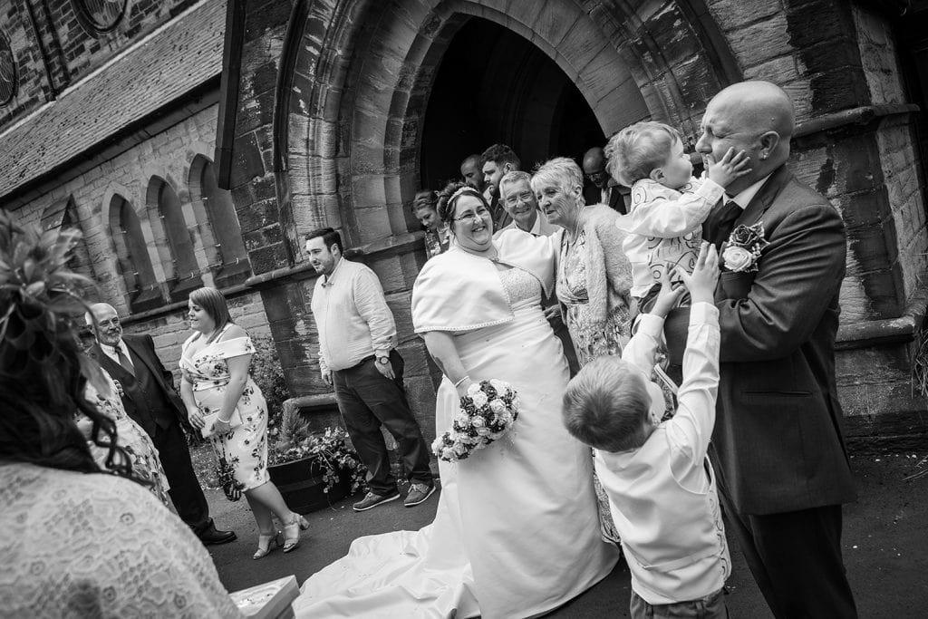 St Nicholas Church Cramlington Wedding Photography 34