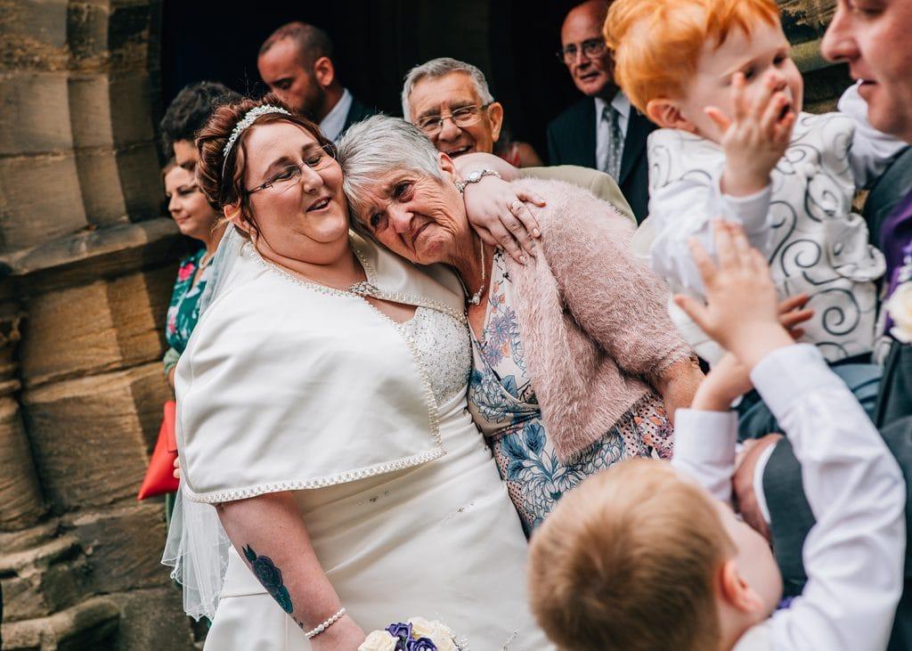 St Nicholas Church Cramlington Wedding Photography 35