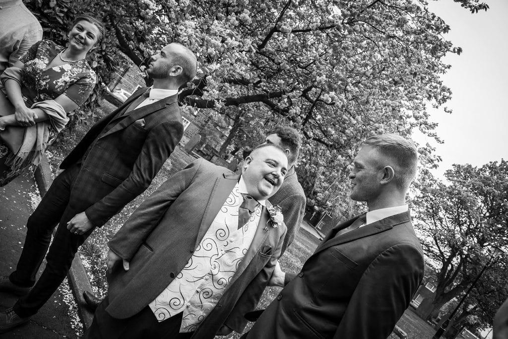 St Nicholas Church Cramlington Wedding Photography 36