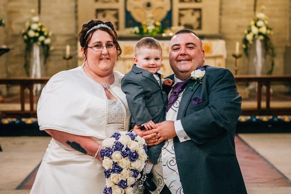 St Nicholas Church Cramlington Wedding Photography 38