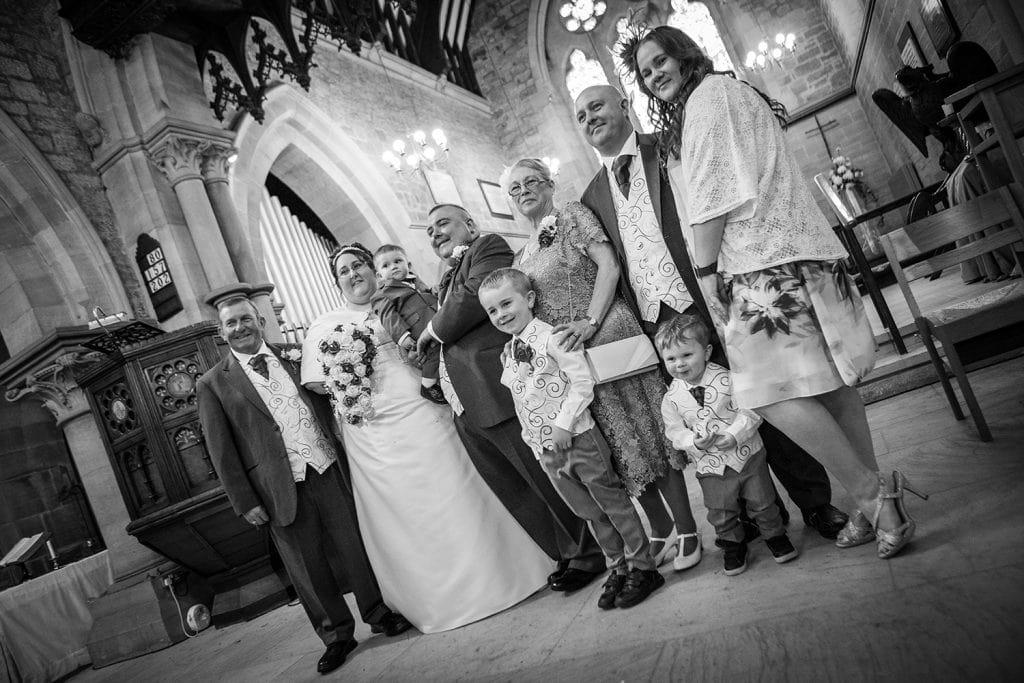 St Nicholas Church Cramlington Wedding Photography 39