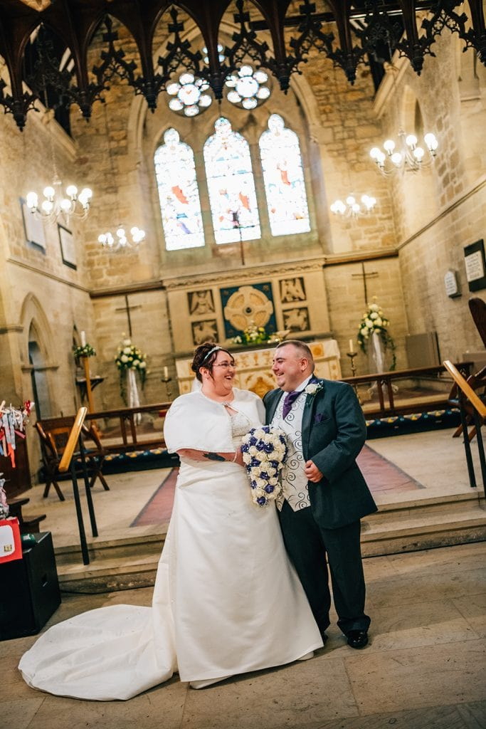 St Nicholas Church Cramlington Wedding Photography 42
