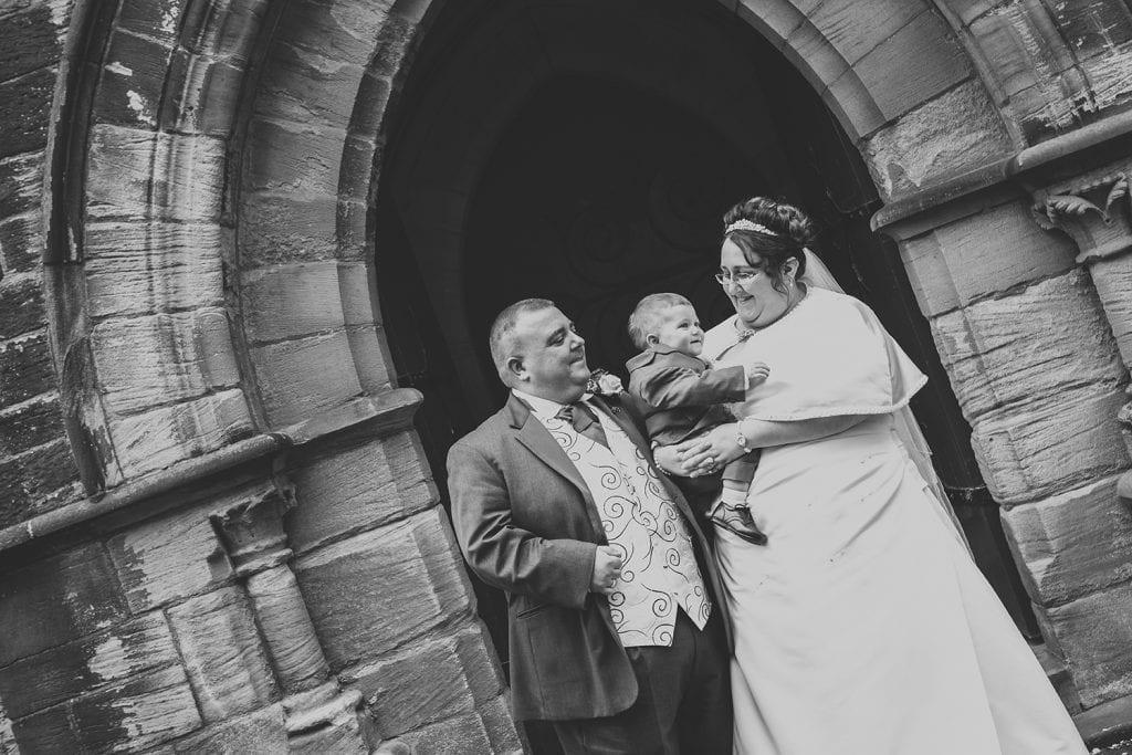 St Nicholas Church Cramlington Wedding Photography 45