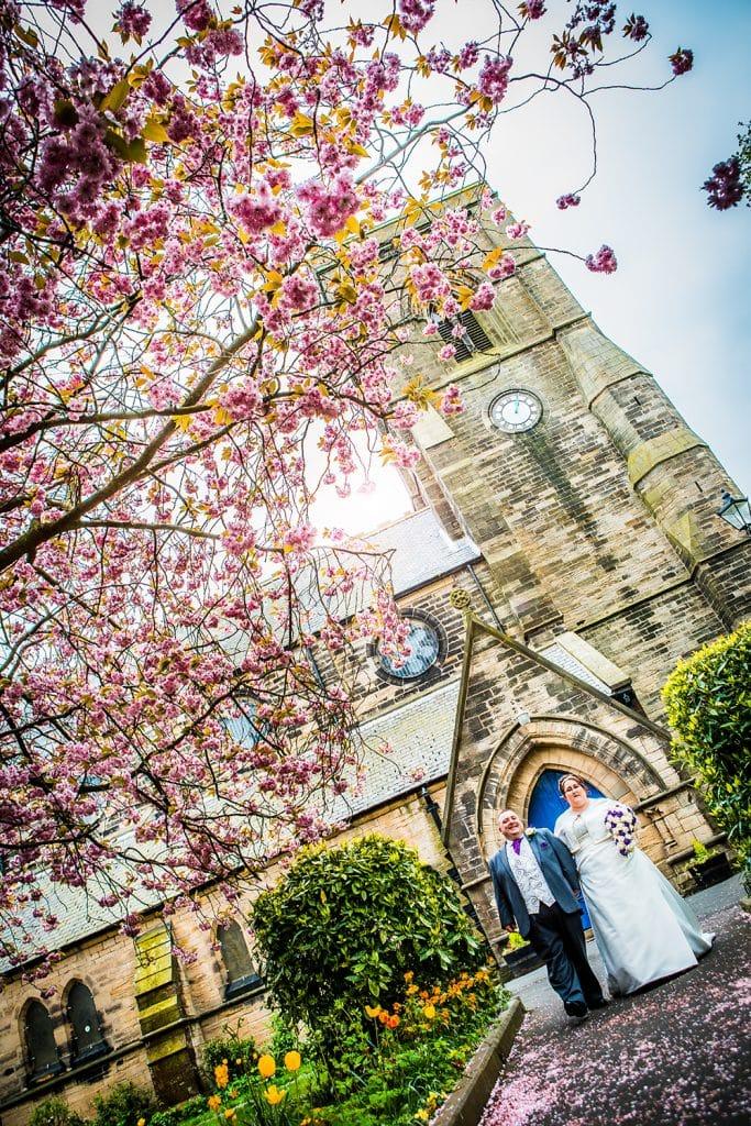 St Nicholas Church Cramlington Wedding Photography 49