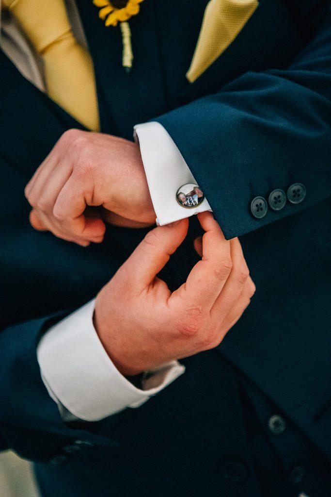 Grooms Custom Cufflinks