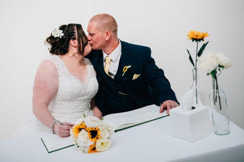 woodhorn museum wedding photography in ashington