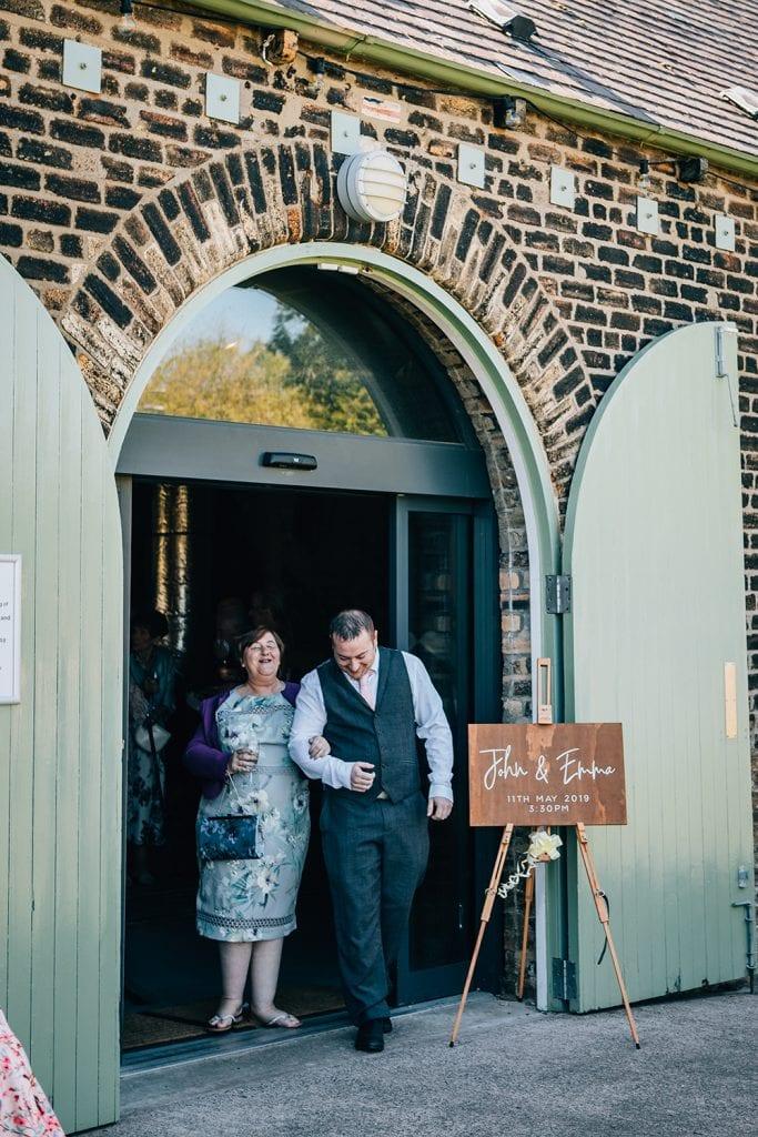 woodhorn museum wedding photography in ashington 38