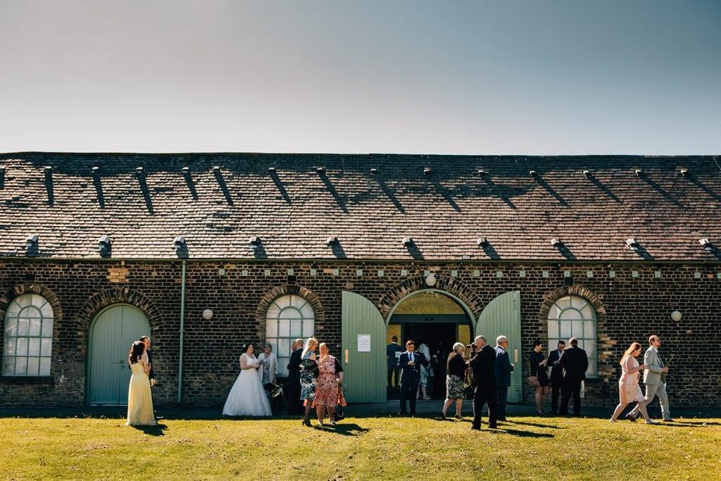 woodhorn museum wedding photography in ashington 39