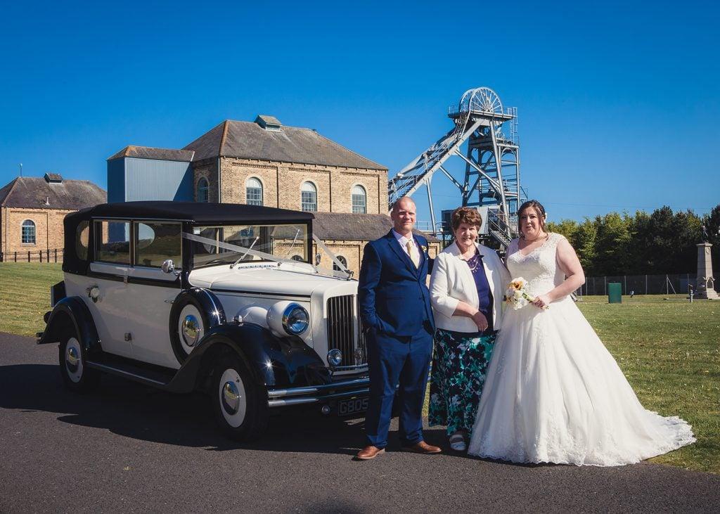 woodhorn museum wedding photography in ashington 43
