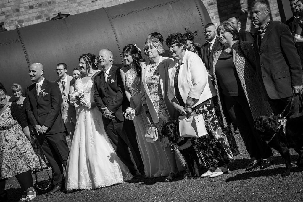 woodhorn museum wedding photography in ashington 46