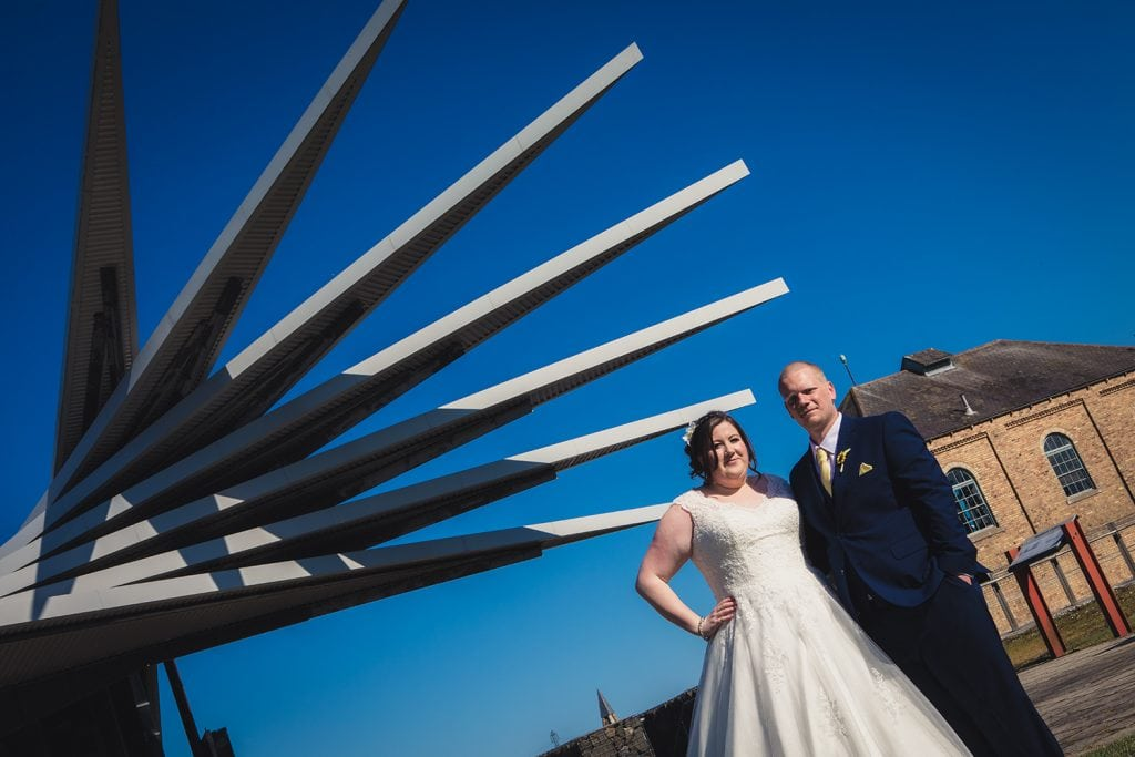 woodhorn museum wedding photography in ashington 48