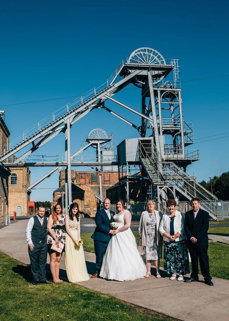 woodhorn museum wedding photography in ashington 49