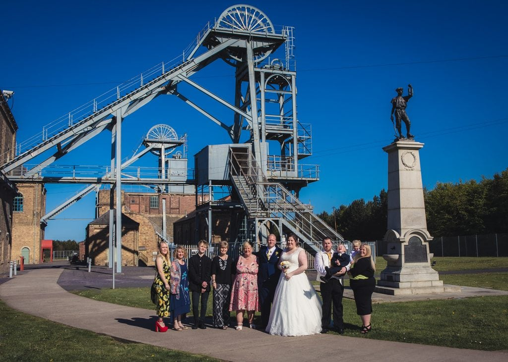 woodhorn museum wedding photography in ashington 50