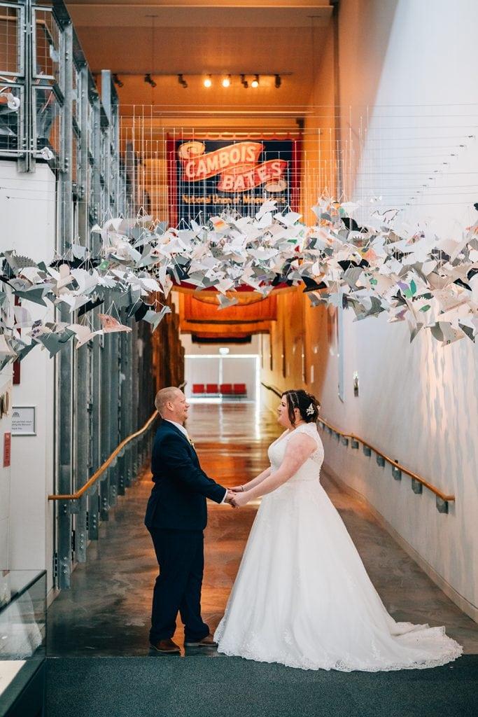 woodhorn museum wedding photography in ashington 59