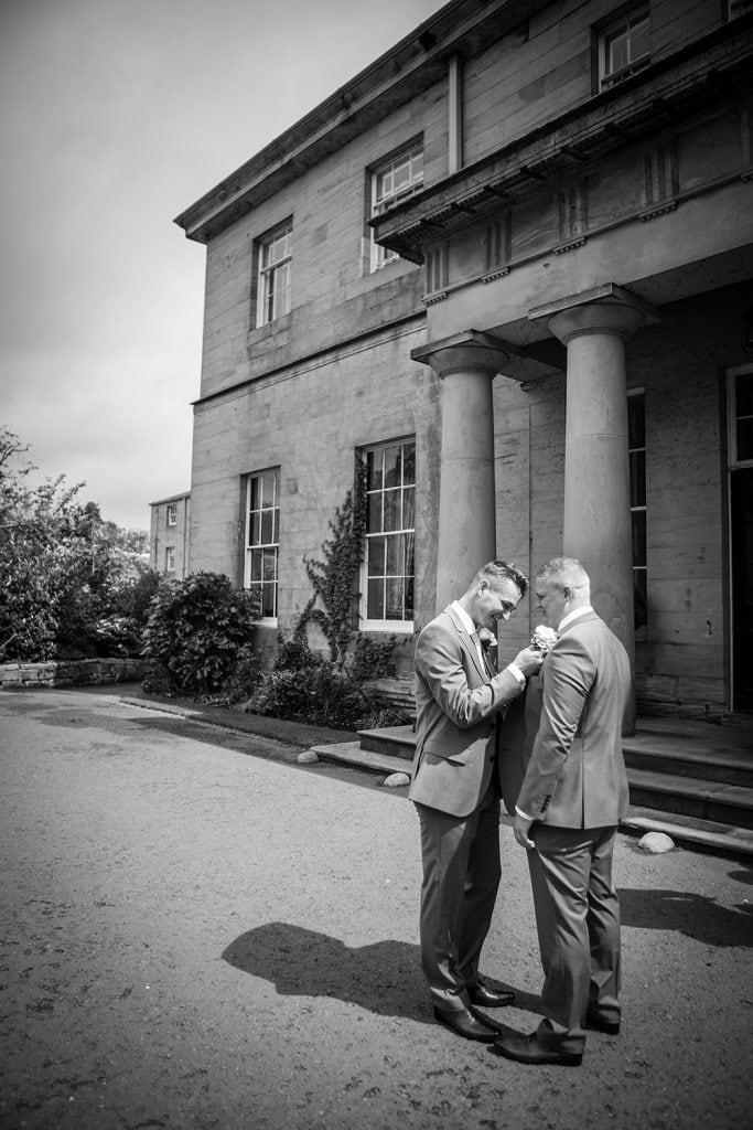 Linden Hall Wedding Photographer in Northumberland 048