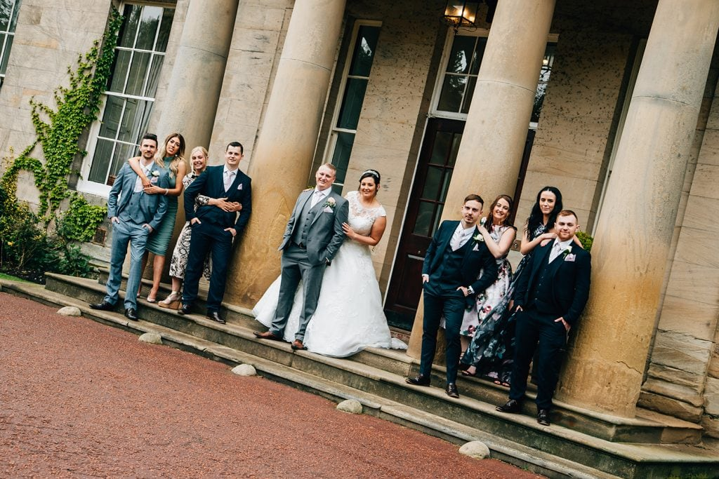 Linden Hall Wedding Photographer in Northumberland 493
