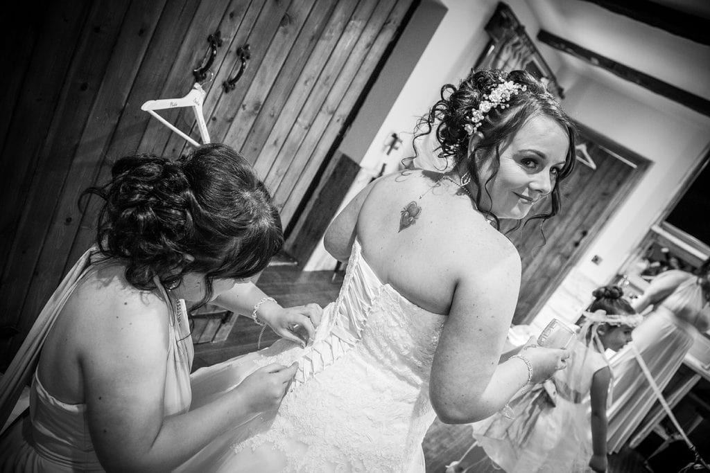 The Old Barn at South Causey Inn Wedding Photographer 13